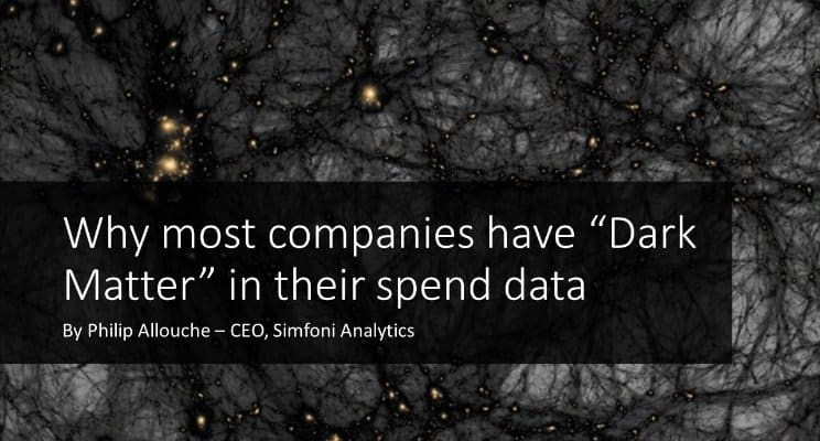 "Why Most Companies Have ""Dark Matter"" in their Spend Data"