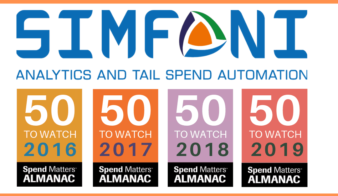 Simfoni Named a 2019 Spend Matters Provider to Watch
