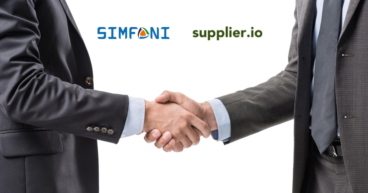 Simfoni and Supplier.io