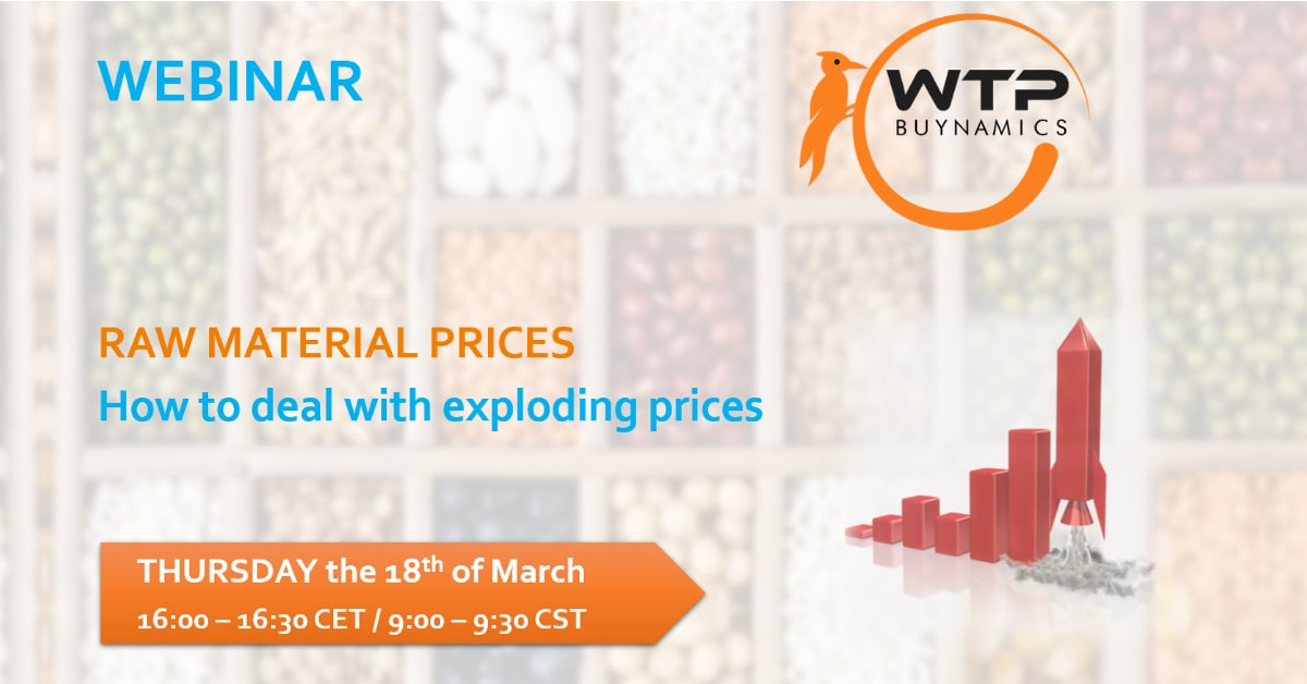 Webinar – Raw Material Prices Exploding